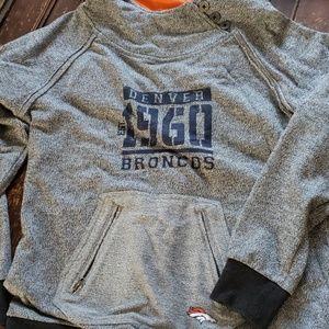 Women's Hooded Denver Broncos Sweater
